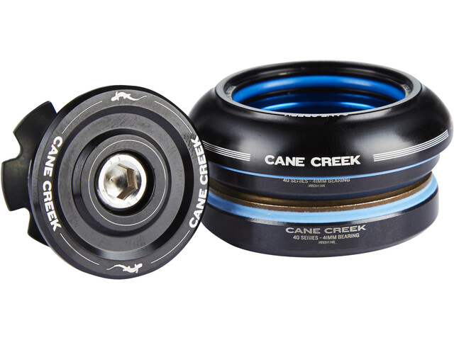Cane Creek 40 Styrfitting short, IS41/28.6 I IS41/30 sort (2019) | Headsets